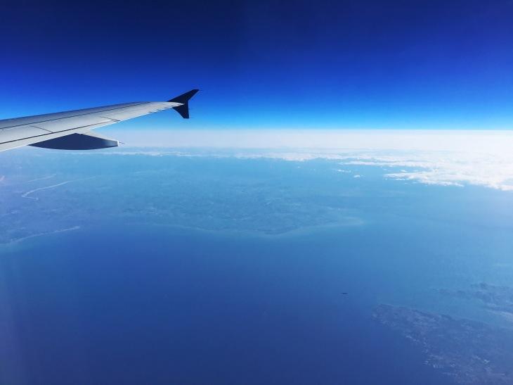 Over France