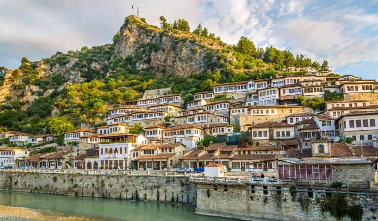 Berat Old City