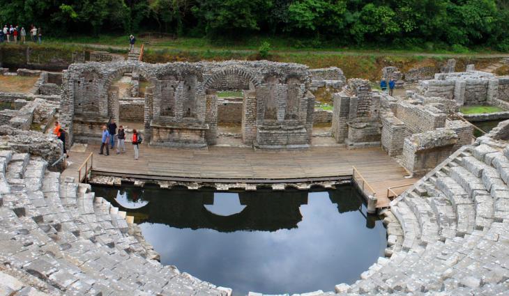 Butrint Ancient theatre