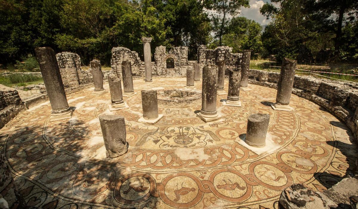 Butrint mosaic