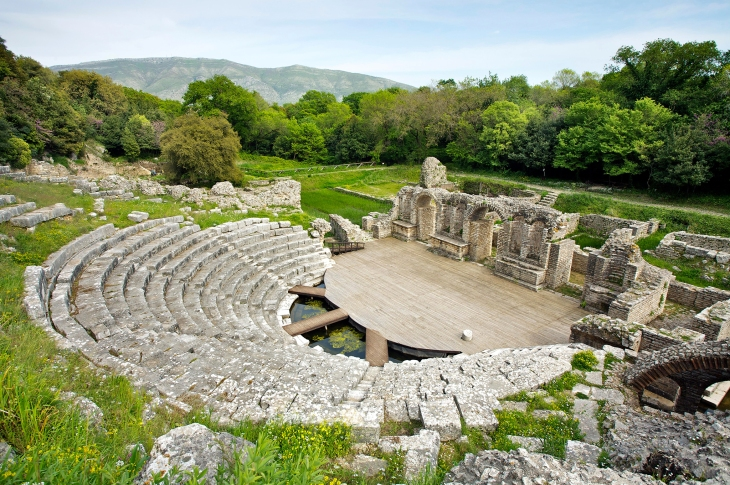 Butrint Ancient theatre