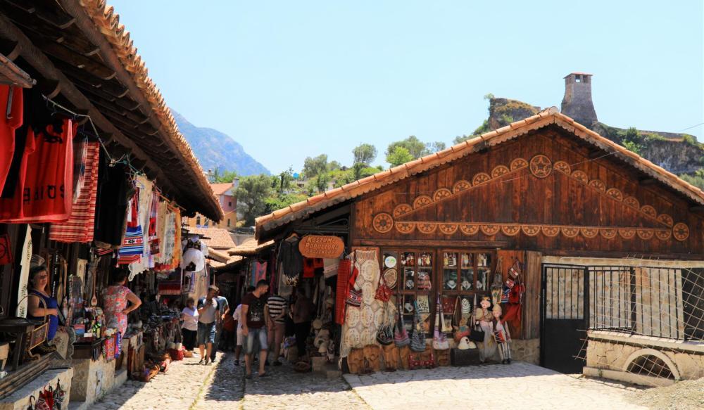 KRUJA The Old Bazaar